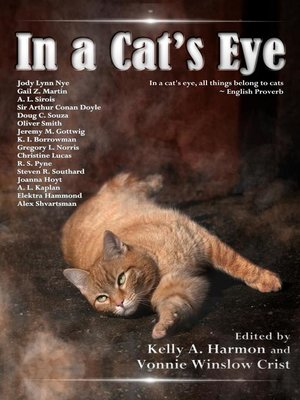 cover image of In a Cat's Eye